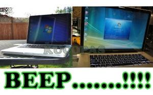 Laptop Bunyi Beep